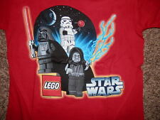 Youth Boys Lego Star Wars T Shirt tshirt Darth Vader Storm Trooper Sidious 8