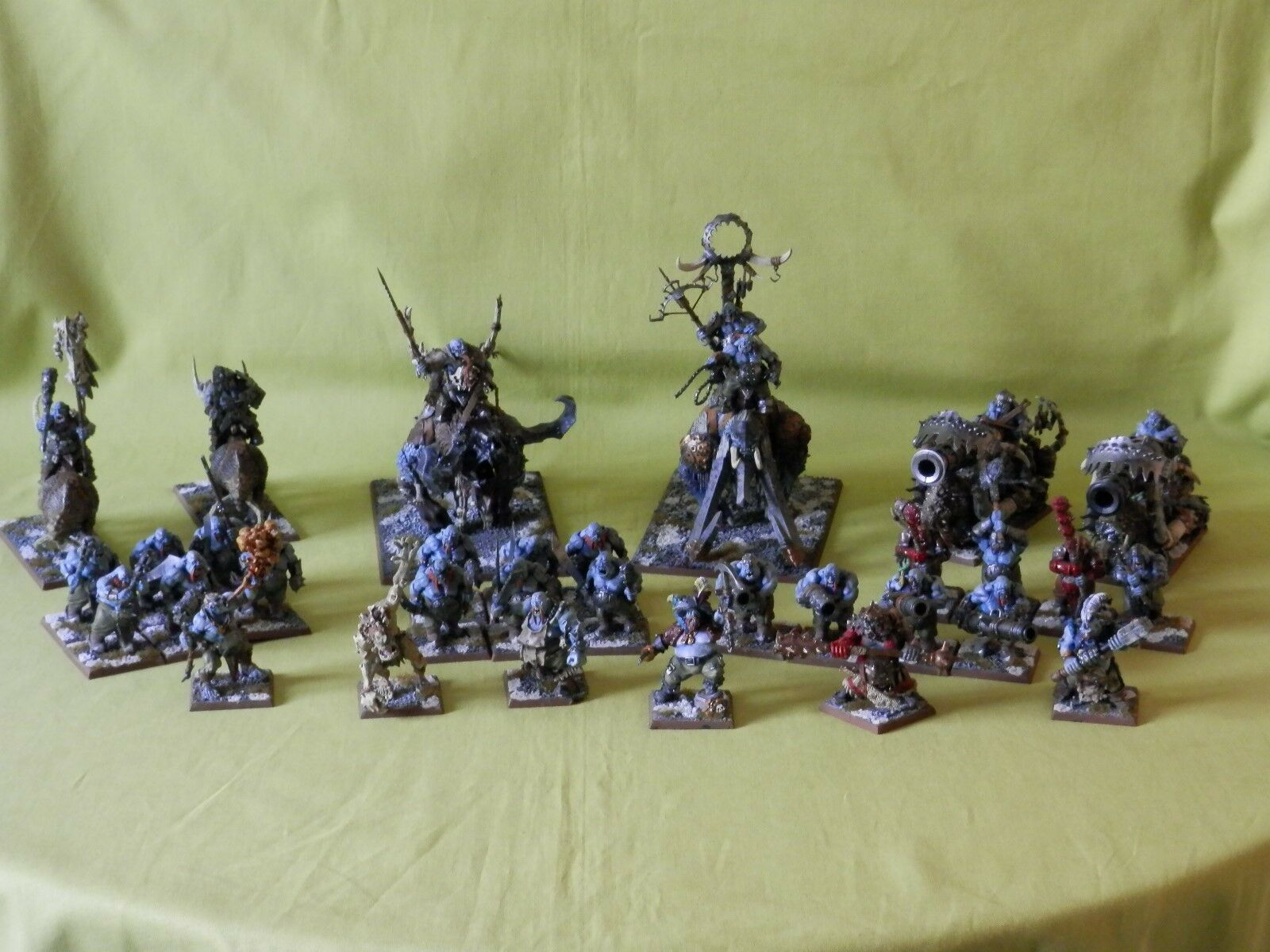 WARHAMMER AOS OGRE KINGDOMS PAINTED ARMY - MANY UNITS TO CHOOSE FROM