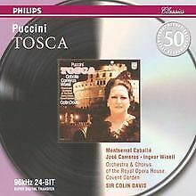 Puccini: Tosca von Caballe   CD   Zustand sehr gut