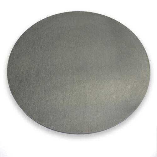 Aluminium Vitre-épaisseur 3 mm AlMg 3 aluscheibe aluronde alu vitre ronde