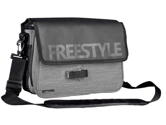 Spro Freestyle Jigging Bag NEW Lure Fishing Soulder Carryall With Lure Boxes