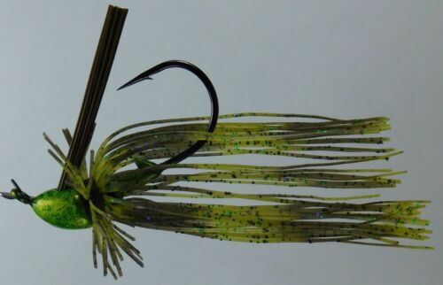 Finesse Weedless Buzz Cut Skirted Flipping Jig #1