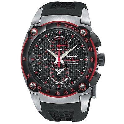 Seiko Sportura SNAC03 P1 Honda F1 Alarm Chronograph Men's Quartz Watch