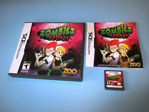 Zombies-Seeker-Nintendo-DS-Lite-DSi-XL-3DS-2DS-Game-w-Case-amp-Manual