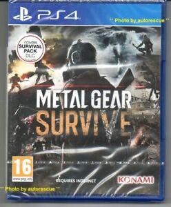 METAL-GEAR-sopravvivere-include-sopravvivenza-Pack-DLC-034-NUOVO-amp-Sealed-039-PS4-quattro