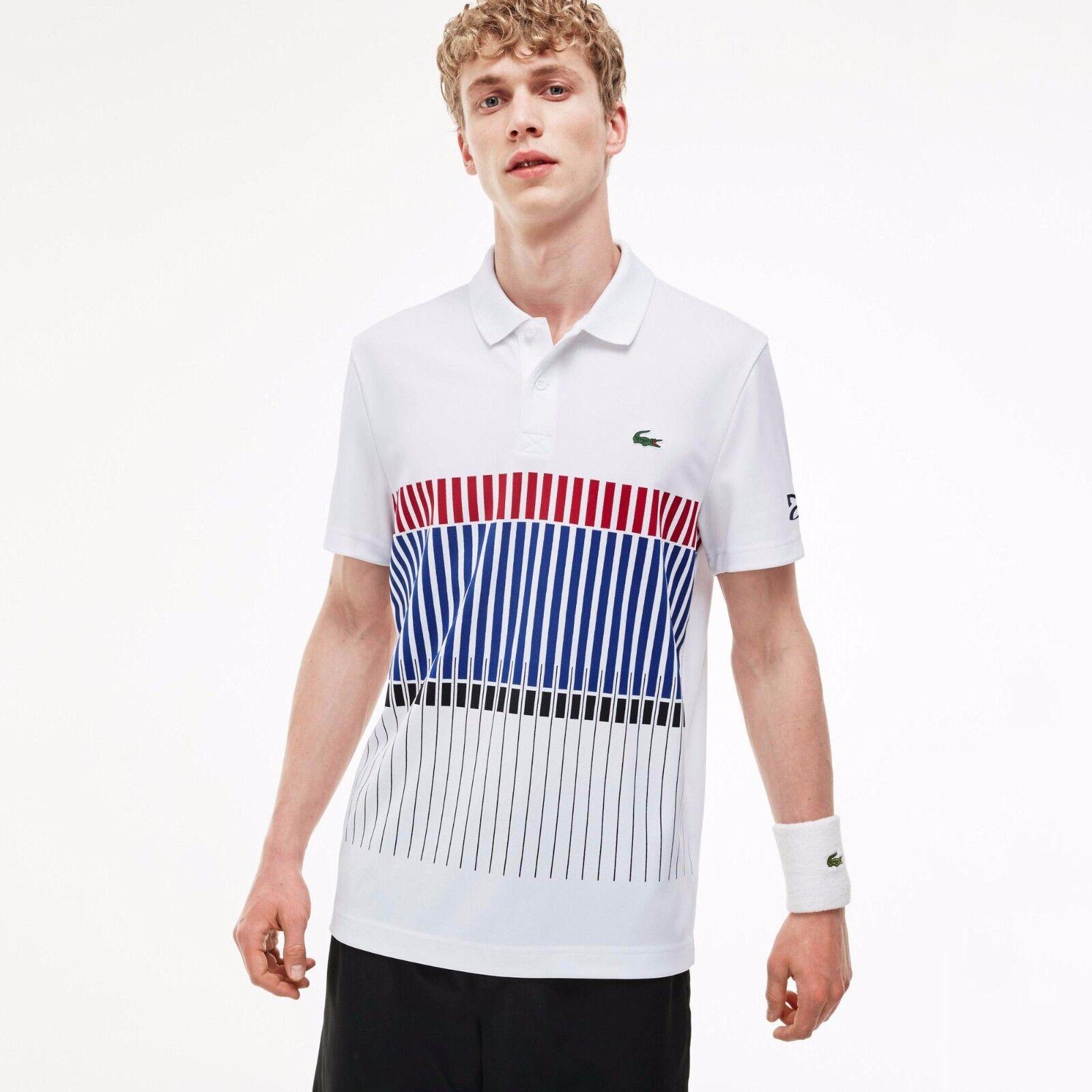 Lacoste x Novak Djokovic EXCLUSIVE EDITION Men's Polo Shirt, size 4-9 (M-4XL)