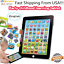 Baby-Tablet-Educational-Toys-Girl-Boys-1-6-Year-Old-Toddler-Learning-English-US miniature 1