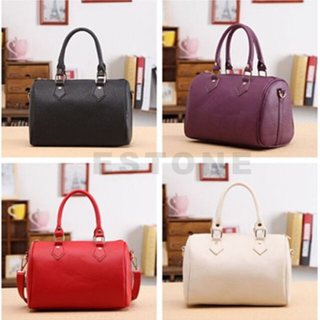 Fashion Women Handbag Shoulder Bag Tote Purse Lady PU Leather Messenger Hobo Bag