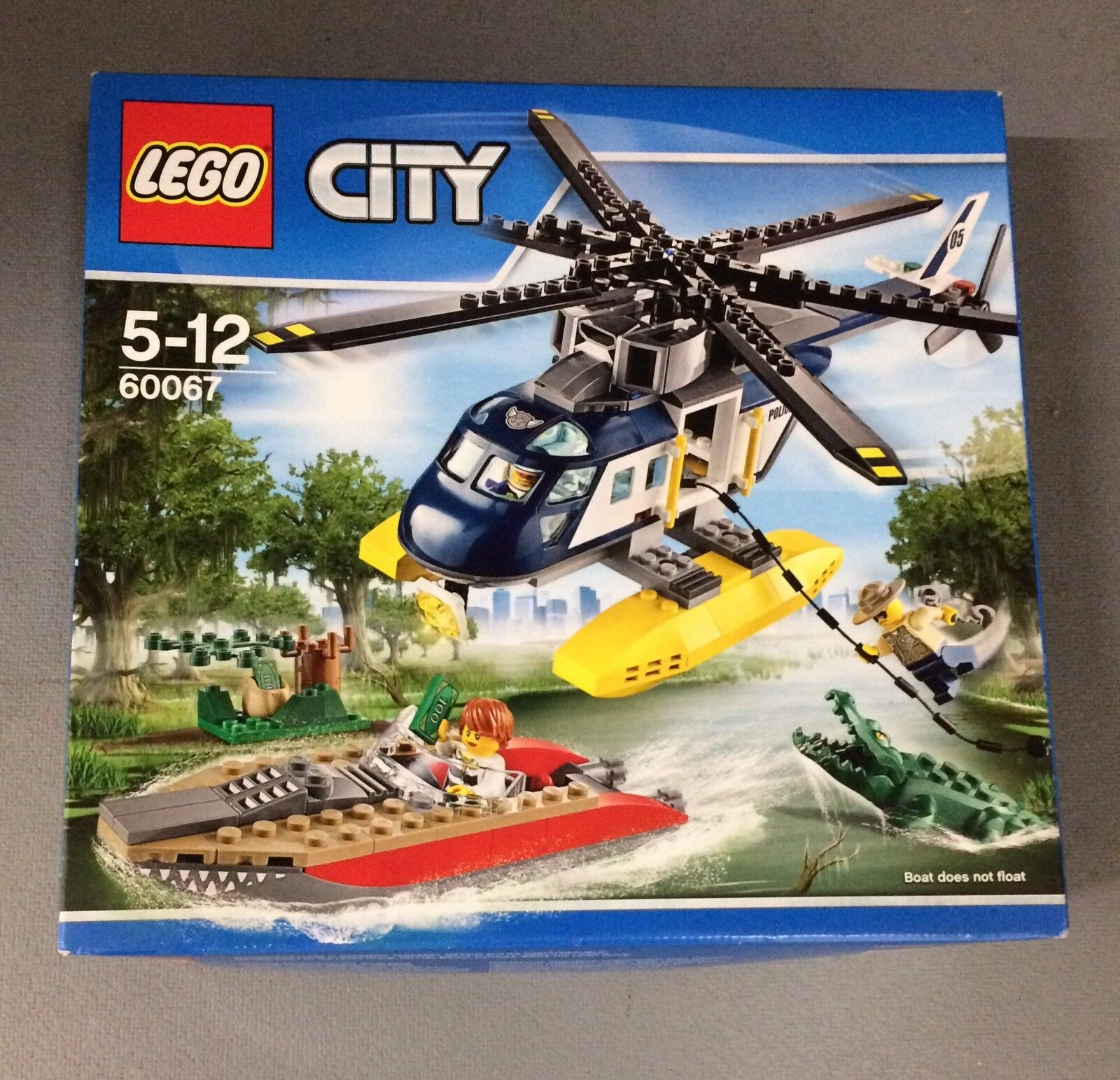 LEGO City Police 60067  Helicopter Pursuit, new & sealed