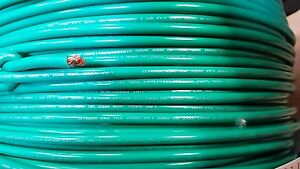 MTW 8 GAUGE AWG GREEN 19 STRANDS COPPER GROUND PRIMARY WIRE 10 FT USA VW-1