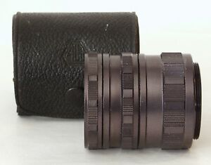 Asahi-Optical-Co-Early-Set-of-42mm-S3-Manual-Extension-Tubes-with-Case