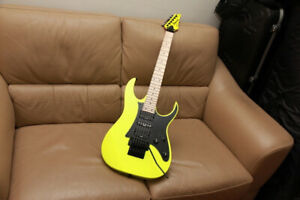 2021 Ibanez Genesis Collection Electric Guitar in Dessert Sun Yellow RG550DY