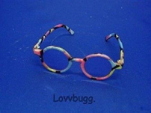 "Lovvbugg Rainbow Sun Glasses for 18"" American Girl Doll Accessory"