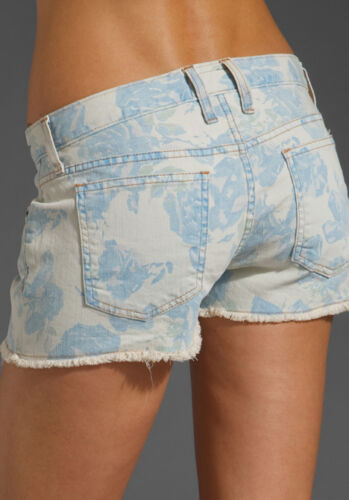 fantasia Off Denim 28 Current Shreded Elliott 168 Shorts taglia Hem Nwt Cut wXqzcC