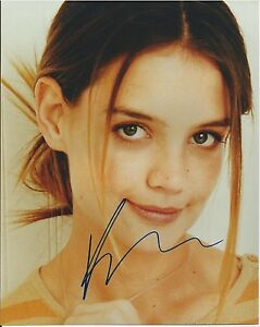 SEXY-KATIE-HOLMES-AUTOGRAPHED-PHOTO-with-COA