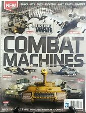 History of War Book of Combat Machines Tanks Jets Subs Choppers FREE SHIPPING sb