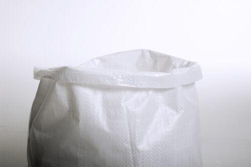 50 Woven POLYPROPYLENE Sack 60 x 100cm Builders Heavy Duty PP Rubble Sand Bag XL