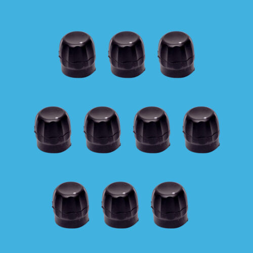 10 Pack Volume Control Knob for Motorola 3680529Z01 OEM Replacement CP200 HT750