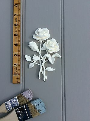 SHABBY CHIC DECORATIVE FURNITURE VINTAGE APPLIQUES MOULDINGS BOWS//ONLAY//CRAFT