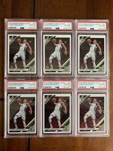 2019 Donruss Optic #81 Giannis Antetokounmpo Milwaukee PSA 10 💎 MINT (Lot of 6)