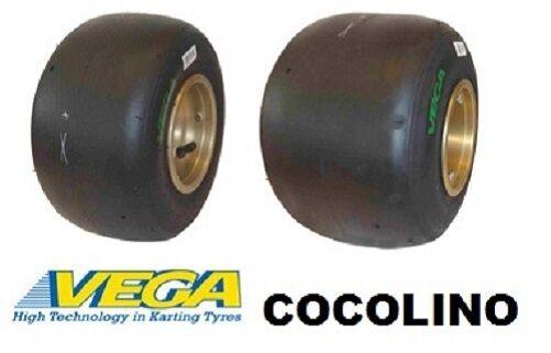 VEGA green XH OPTION CIK FIA 4.60-10-5 7.10-11-5 Slic Ruedas Kart
