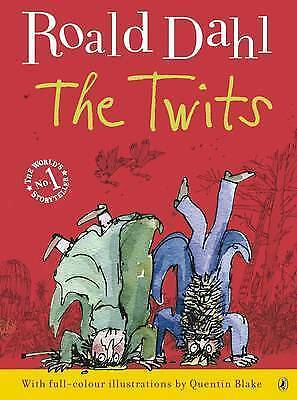 The Twits by Roald Dahl, Good Book (Paperback) FREE & Fast Delivery!