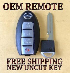 oem nissan altima maxima smart key proximity keyless remote fob kr55wk48903 ebay. Black Bedroom Furniture Sets. Home Design Ideas