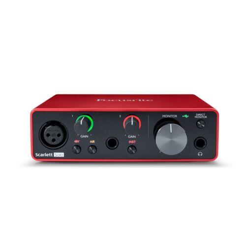 Focusrite Scarlett Solo 2-in 2-out USB Audio Interface 3rd Gen