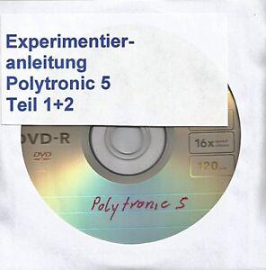 """Sammeln & Seltenes 11 018 DDR Experimentierkasten Polytronic Elektronik 6 """"Anleitung Kpl. Spielzeug"""