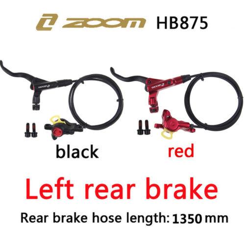 ZOOM MTB Bike Hydraulic Disc Brake Bicycle 160//180//203mm Disc Brake 6 Bolt Rotor