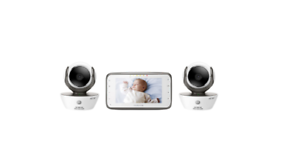 Motorola-MBP854CONNECT-2-Dual-Mode-Baby-Monitor-with-2-Cameras-and-4-3-Inch-LCD