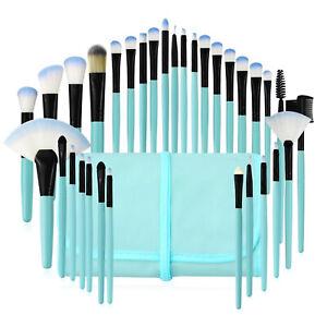 32pcs Makeup Brush Set Eyeshadow Powder Foundation Face Cosmetic Brush Free Bag