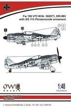 Owl 1/48 Focke-Wulf Fw-190F-8 SG 113 Armament # S4835