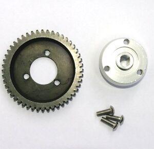 Stahl-Zahnrad-48-Zaehne-Set-mit-Adapter-als-FG-06493-6493-fuer-FG-Monster-Truck