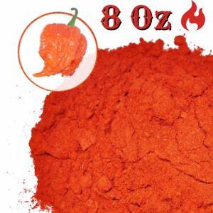Carolina-Reaper-Powder-8oz-World-039-s-Hottest-Pepper-Dried-Carolina-Reaper