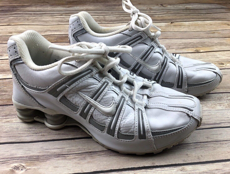Rare Nike Women's 311079-111 (2005) Turbo Running White Shox Size 6
