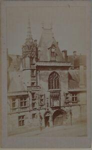 Palacio-Jacques-Corazon-Bourges-Francia-Foto-CDV-PL45L2n2-Vintage-Albumina