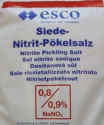 25 Kg Pökelsalz Nitritpökelsalz erhöht 0,8 - 0,9 %