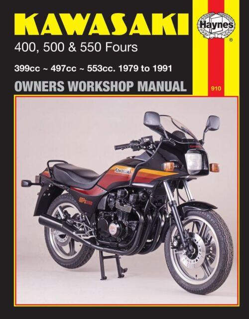 kawasaki z400 z500 z550 haynes workshop service manual ebay rh ebay com Honda CM 400 Honda CM 400