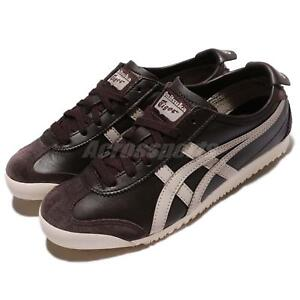 Asics Onitsuka Tiger Mexico 66 Coffee Feather Grey Men Running Shoes D4J2L 2912