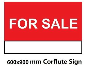 600x900mm-Foam-Sign-FOR-SALE-Corflute-Signs-Vinyl-PVC-Sign-Banner-with-eyelets