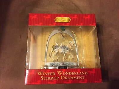 Breyer Winter Wonderland Stirrup Christmas Ornament