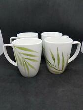 Corelle Coordinates Bamboo Cups Mugs Set of 4 White White