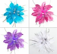Feather Clip/pin For Hair, Clothing, Etc. (available In 4 Different Colors)