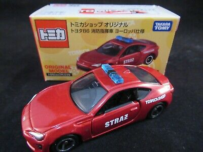 ***TSS Tomica Toyota 86 Dream Tomica Initial D SP Model