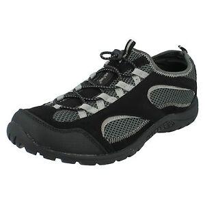 Hi-Tec-Hombre-50-Peaks-Bude-Toggle-Calce-en-Ligero-Zapatillas-casual