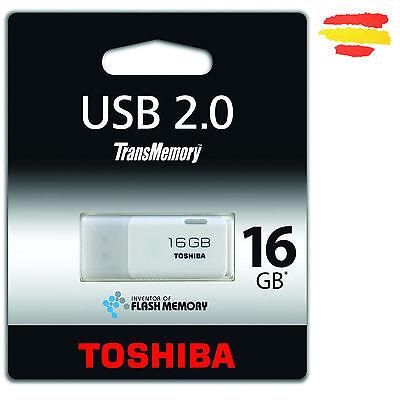 PENDRIVE 16GB TOSHIBA MEMORIA USB 2.0 16 GB ORIGINAL PEN DRIVE P1601