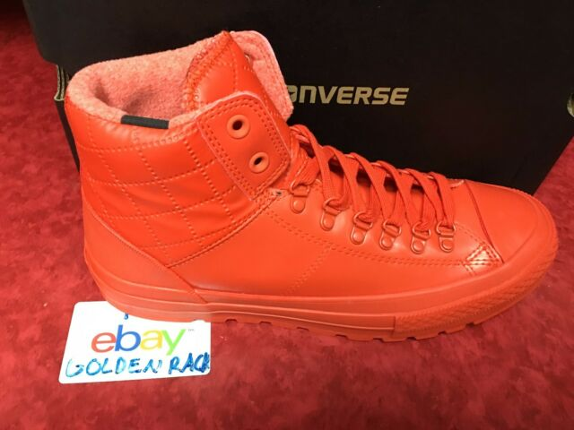 8e5fef10bdd Converse All Star Street Hiker Men s Signal Red Signal Red 153664C Size 8-10
