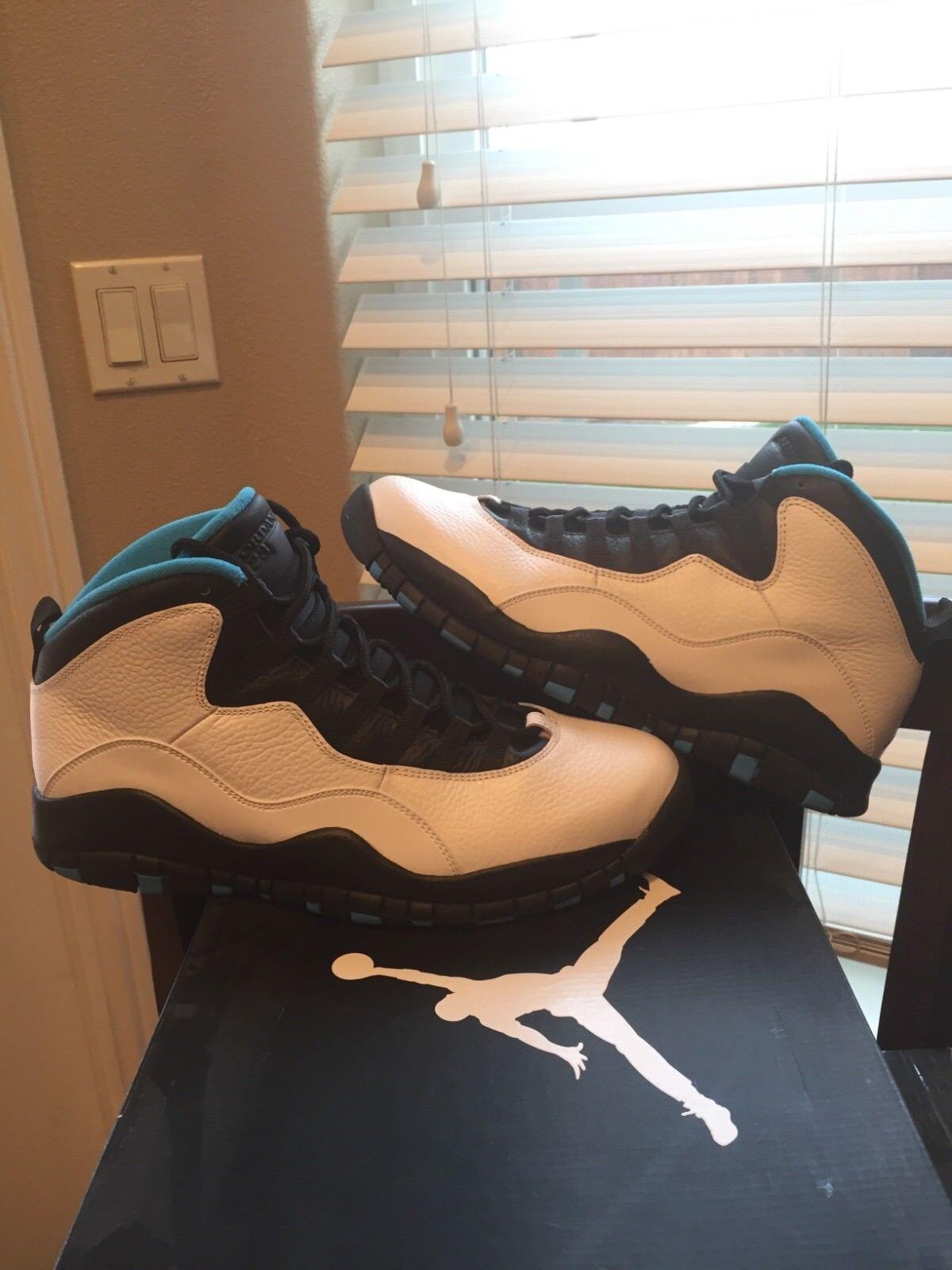 2014 Air Jordan Retro 10 X Powder Blue 310805 106 Size 10