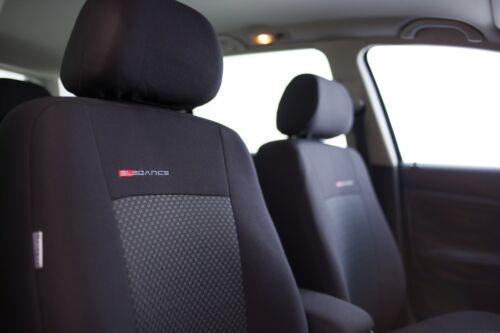 Sitzbezüge Sitzbezug Schonbezüge für Dacia Duster Vordersitze Elegance P3
